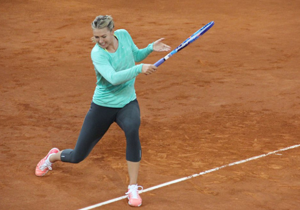 Video: Sharapova Aims for Red Clay Rebound