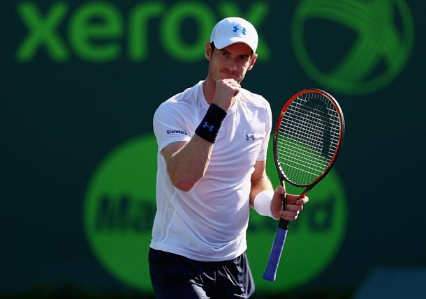 Murray Rises to Thiem's Challenge in Miami