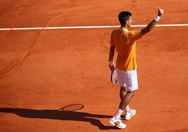 Djokovic, Ferrer Cruise; Dimitrov Fights off Verdasco in Monte Carlo