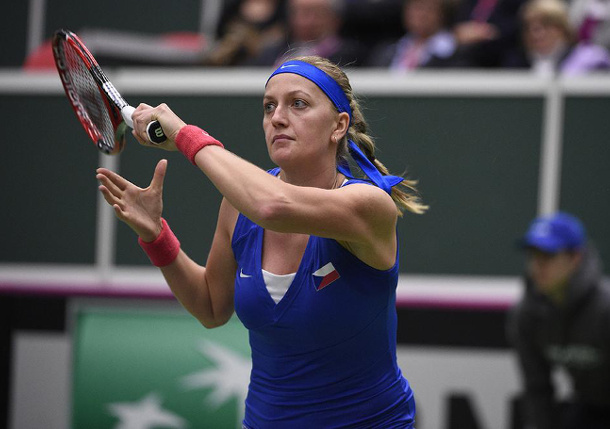 Safarova, Kvitova Put Czech Republic in Command over France