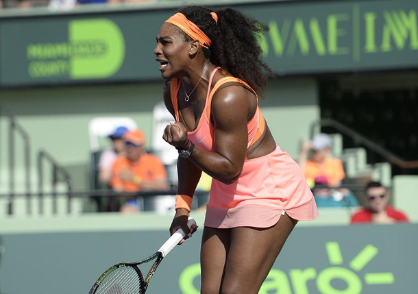Serena Scores 700th Career Win To Reach Miami Semifinals