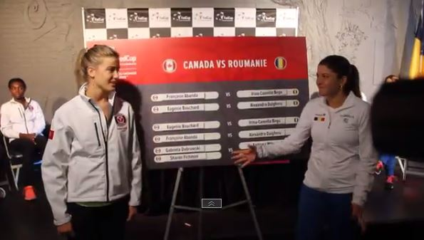 Bouchard Makes Waves by Refusing Handshake with Dulgheru