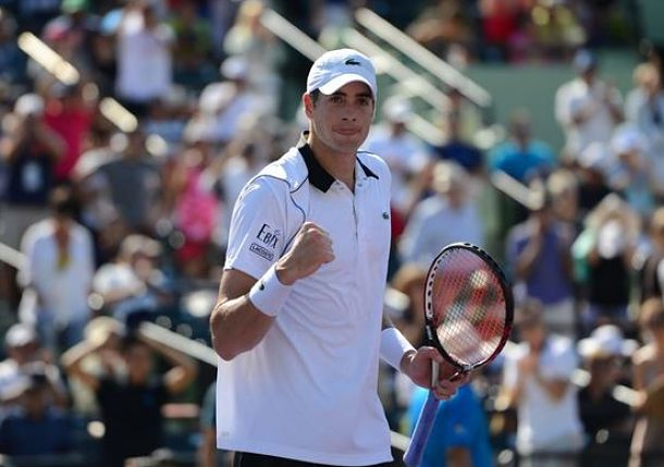 Isner Puts a Big Hurt on Nishikori to Reach Miami Semis