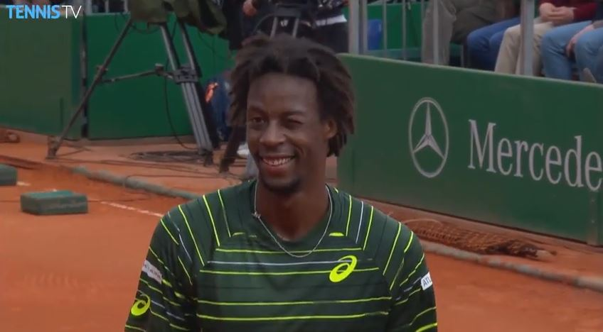 Monfils, with the Fake and Bake