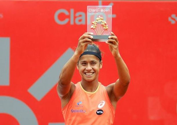 Teliana Pereira becomes Brazil's first WTA title winner Since '88