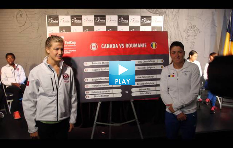 Genie Bouchard Under Fire - Novak Masters History - Serena Finished with Fed Cup?