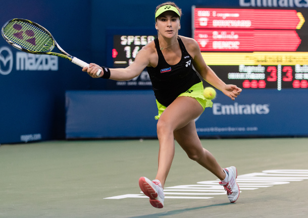 Bencic Holds Off Halep to Take Toronto Title
