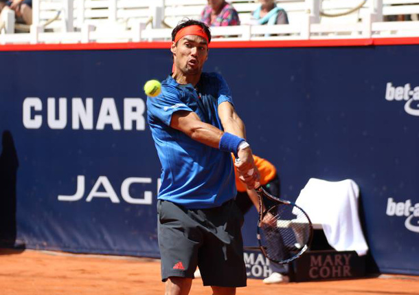 Fognini Picks Pouille Apart to Reach Hamburg Final