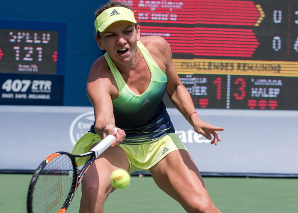 Halep Subdues Errani to Reach Fourth Final of Year in Toronto