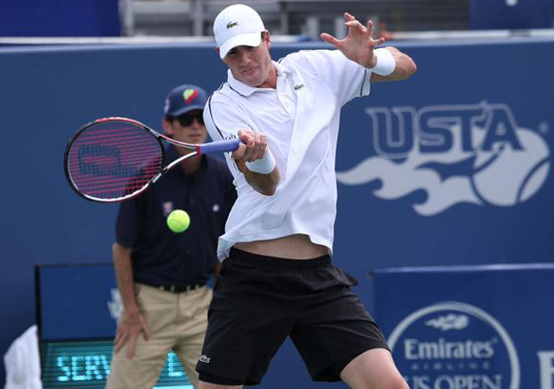 Isner Blasts Hobbled Baghdatis to Three-Peat in Atlanta