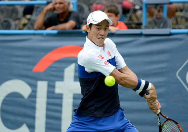Nishikori Slips Cilic Into D.C. Final
