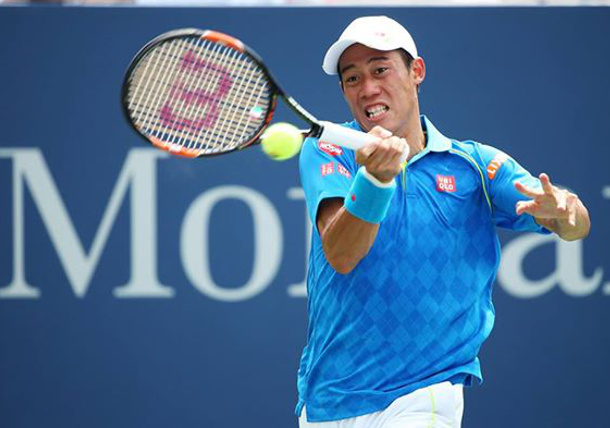 Paire Saves Match Points Knocks Nishikori out of Open