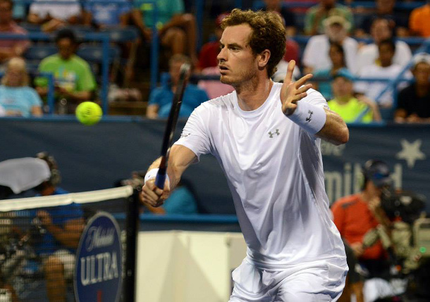 Gabashvili Sends Murray Packing Early Out of D.C.