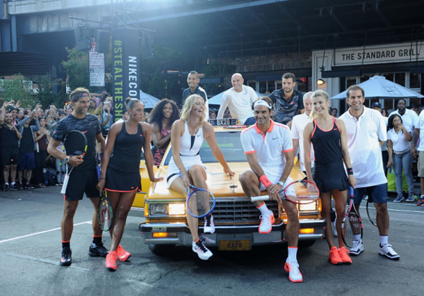 Video: Swoosh Stars Align in New York City