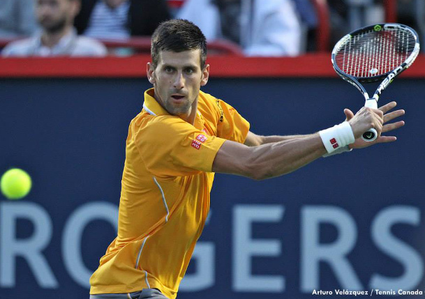 Djokovic Dismisses Sock to Reach Montreal Quarterfinals