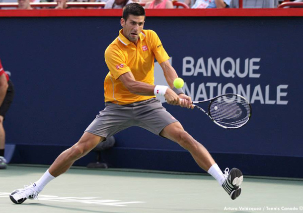 Djokovic Cruises Past Chardy Into Fourth Rogers Cup Final