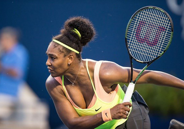 Serena Beats Pironkova and Rain In Cincinnati Opener