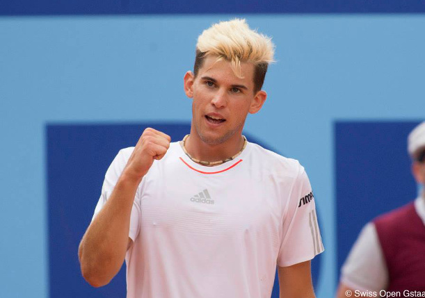 Thiem Tops Goffin to Win Gstaad