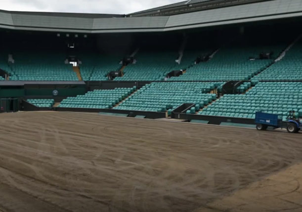Video: Wimbledon Strip Show