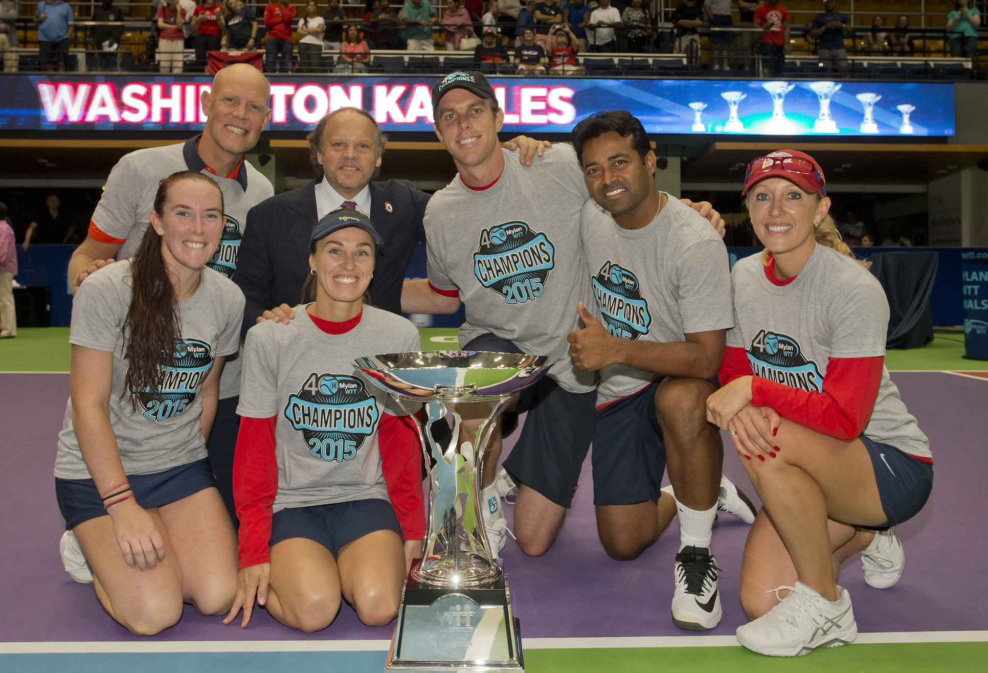 Washington Kastles Win Record Fifth World Team Tennis Title