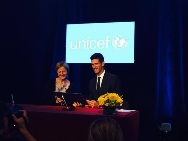 Djokovic's Foundation Partners with Unicef and World Bank to Promote Early Childhood Development
