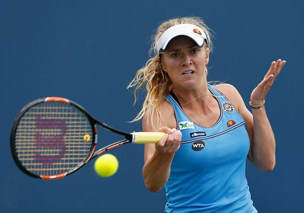 Svitolina Comes through Dogfight with Bondarenko at Stanford