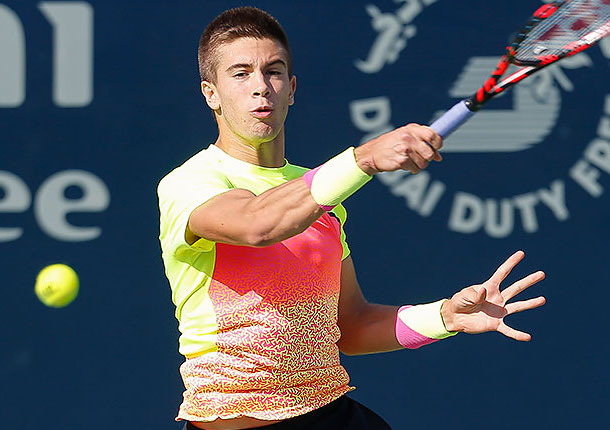 Coric Crushes Murray to Reach Dubai Semifinals