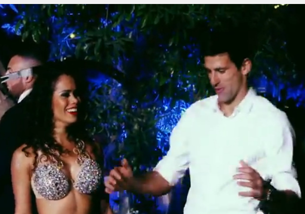 Video: Djokovic's Dancing Days in Dubai