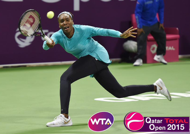 Venus Repels Radwanska To Reach Doha Final Four
