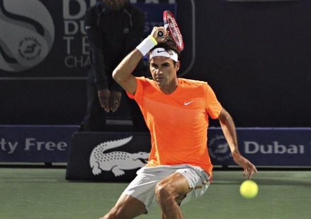 Federer Reaches Dubai Semis as Gasquet Retires