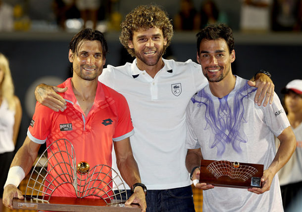 Ferrer Becomes King of the Golden Swing with Rio Title