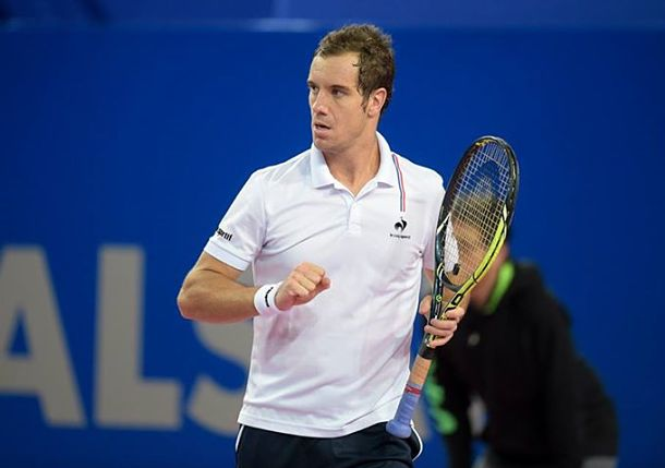 Video: Gasquet Becomes First Frenchman to Notch 500th ATP Win