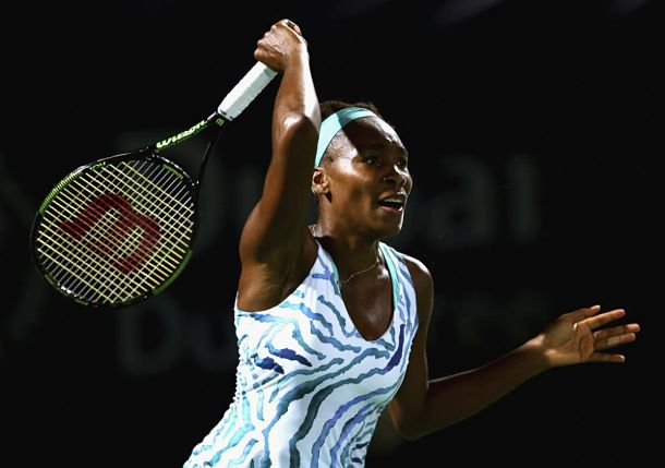Venus Williams Wins 16th Straight at Dubai