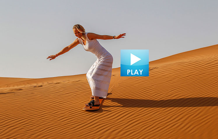 Caroline Wozniacki Goes Sand Boarding - Ivo Karlovic Models for Victoria's Secret?
