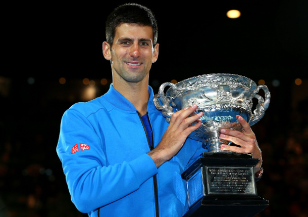 Novak Djokovic, Tennis's Taxman, Is No Joke