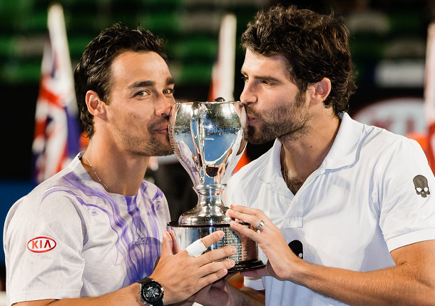 Video: Bolelli, Fognini Win Doubles Title and Apology From Officials