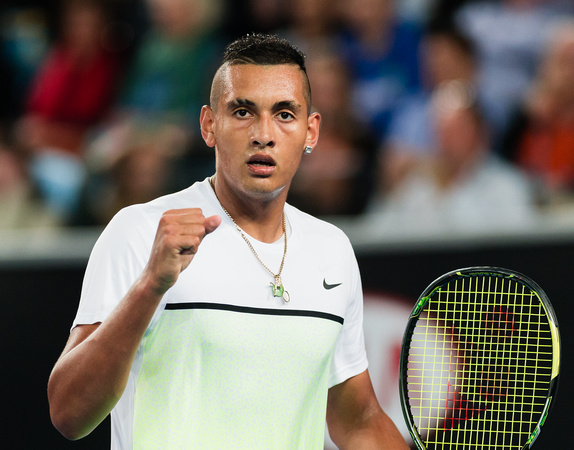 Kyrgios and Kokkinakis Lead Aussie Charge Into Second Round