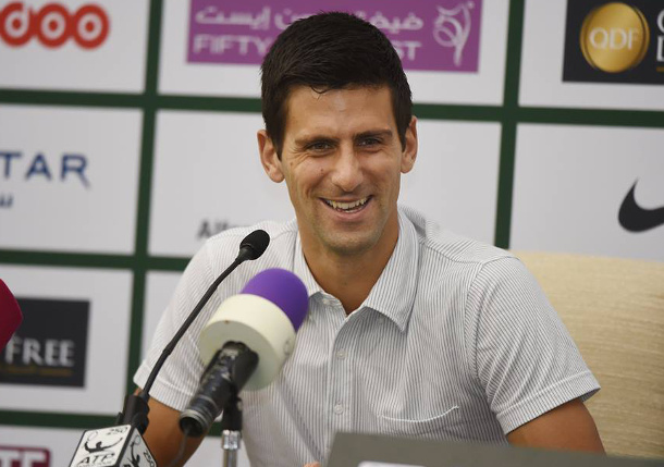 Djokovic Dismisses Lajovic in Doha Opener
