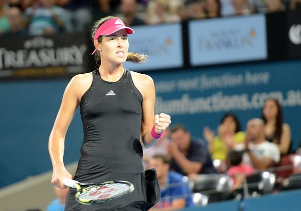 Ivanovic Reaches Brisbane Final