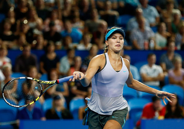 Bouchard Trounces Serena Williams at Hopman Cup