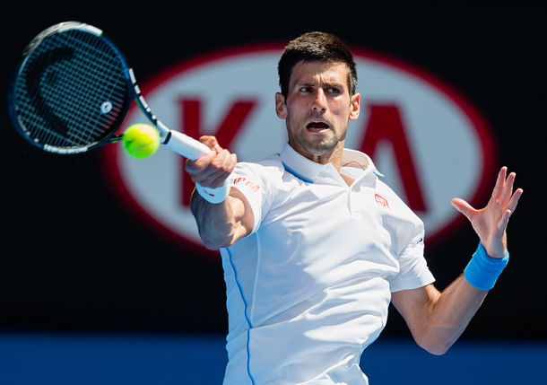 Djokovic Daunting on Day 4