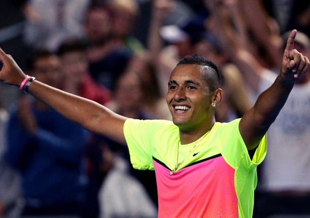 Kyrgios Becomes Youngest Aussie Open Quarterfinalist in 24 Years