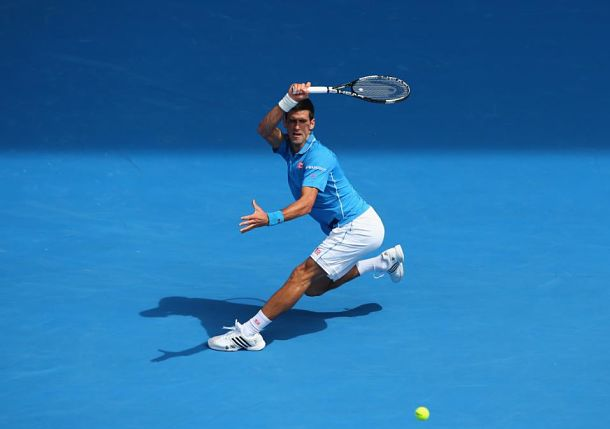 Djokovic in Melbourne, Looking Fit