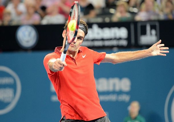 Federer Hammers Duckworth, Sets Dimitrov Clash