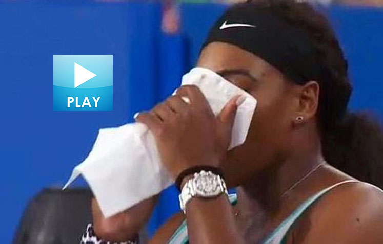 Federer & Nadal Hot Shots, Serena Brews Up Comeback