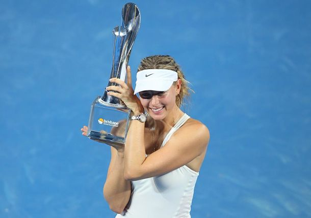 Sharapova Inches Closer to No. 1 with Brisbane Title