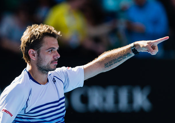 Wawrinka's Title Defense Intact with Win over Nishikori