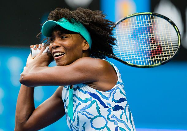 Venus Williams Storms into First Major Quarterfinal Since 2010