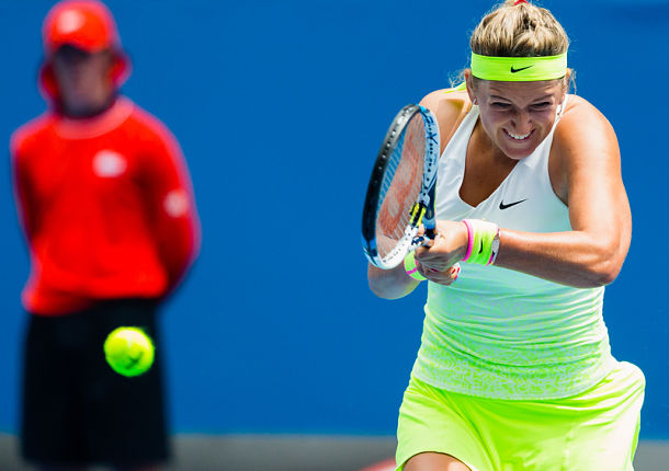 Azarenka Dances Past Wozniacki and into Third Round