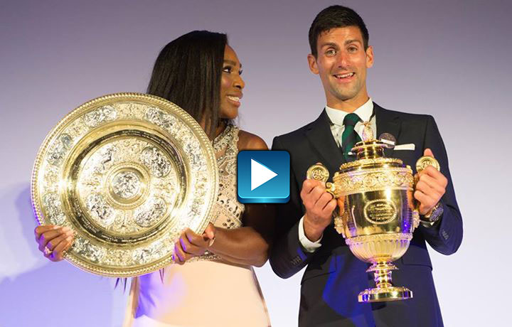 Wimbledon Wrap - Nole's Secret Weapon